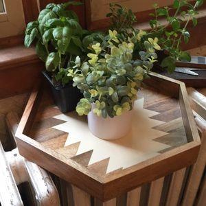 Nate Berkus farmhouse tray
